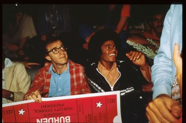 Woody Allen and Michael Jackson