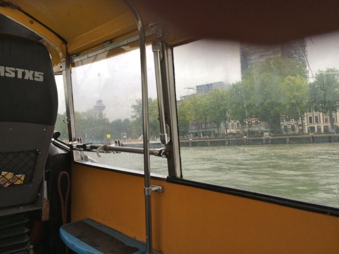 View from the water taxi