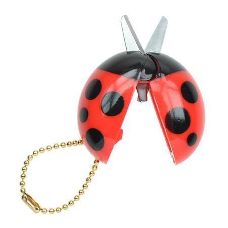 OH43601~OHTO-Ladybird-Keychain-Scissors-Red-Black_P1