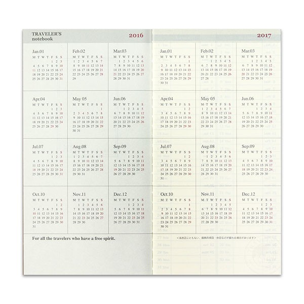 Midori-TRAVELER-S-Notebook-2016-Weekly-Vertical-Diary-Refill-32