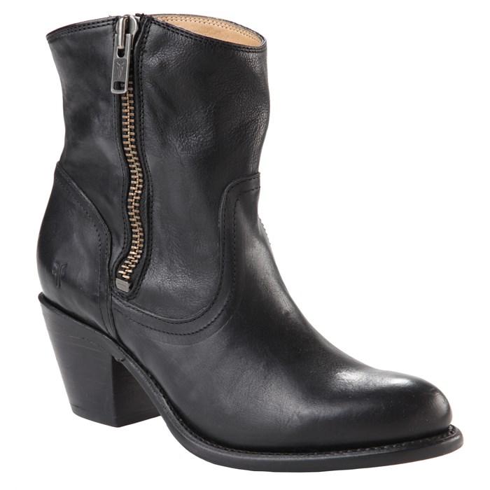 frye-leslie-zip-bootie-women-s-black-front-2