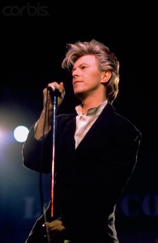 21 Mar 1987, Paris, France --- David Bowie on Stage --- Image by © Frédéric de Lafosse/Sygma/Corbis