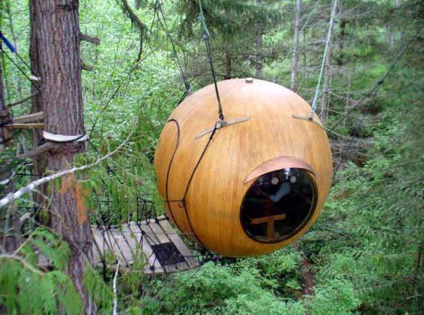 Free Spirit Spheres (Qualicum Beach, BC, Canada)
