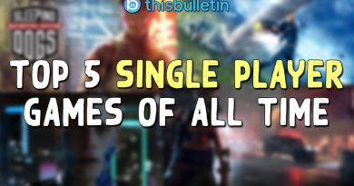 top 5 single player games