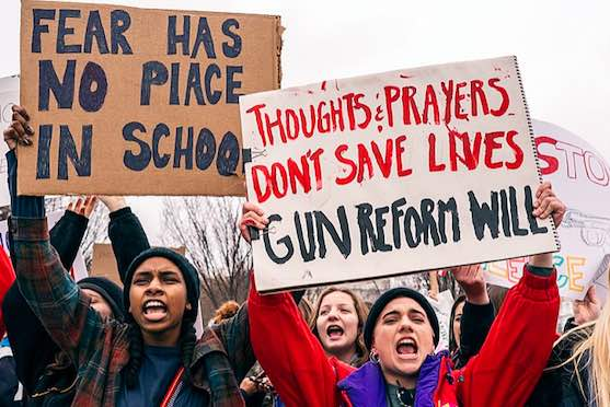 Students from the Marjory Stoneman Douglass High School may have sparked a national student protest movement