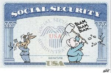 Both parties in Congress have been stiffing seniors and the disabled for decades by insisting on Social Security using a lousy C