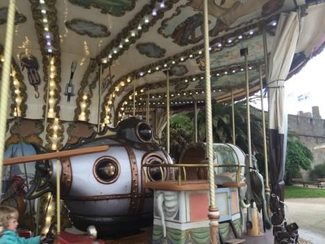 Nemo's Nautilus on the Carousel