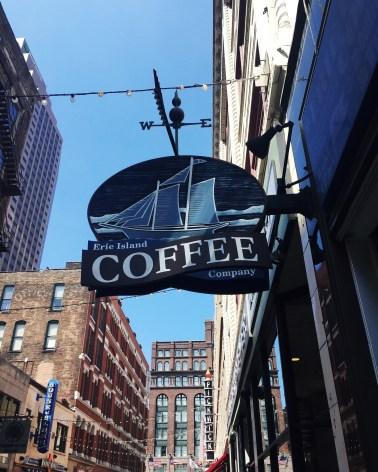 Erie Island Coffee Company in Cleveland, Ohio