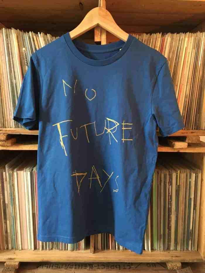 Messer No Future Days Shirt blau