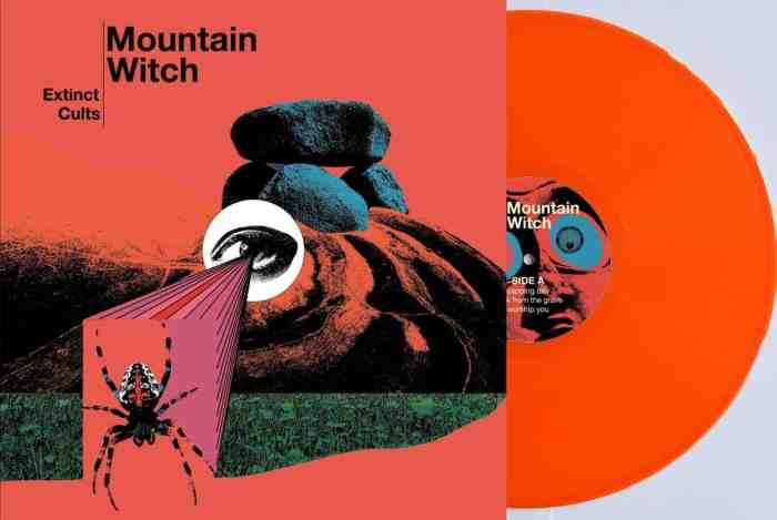 Mountain Witch LP mock orange