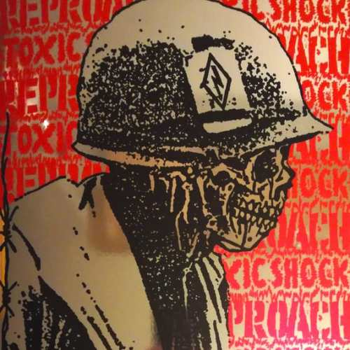 "toxic shock reproach split 12"" cover"