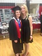 My best friend's high school graduation