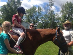 Internship: Horse back riding therapy
