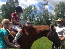 Internship: Horse back riding therapy