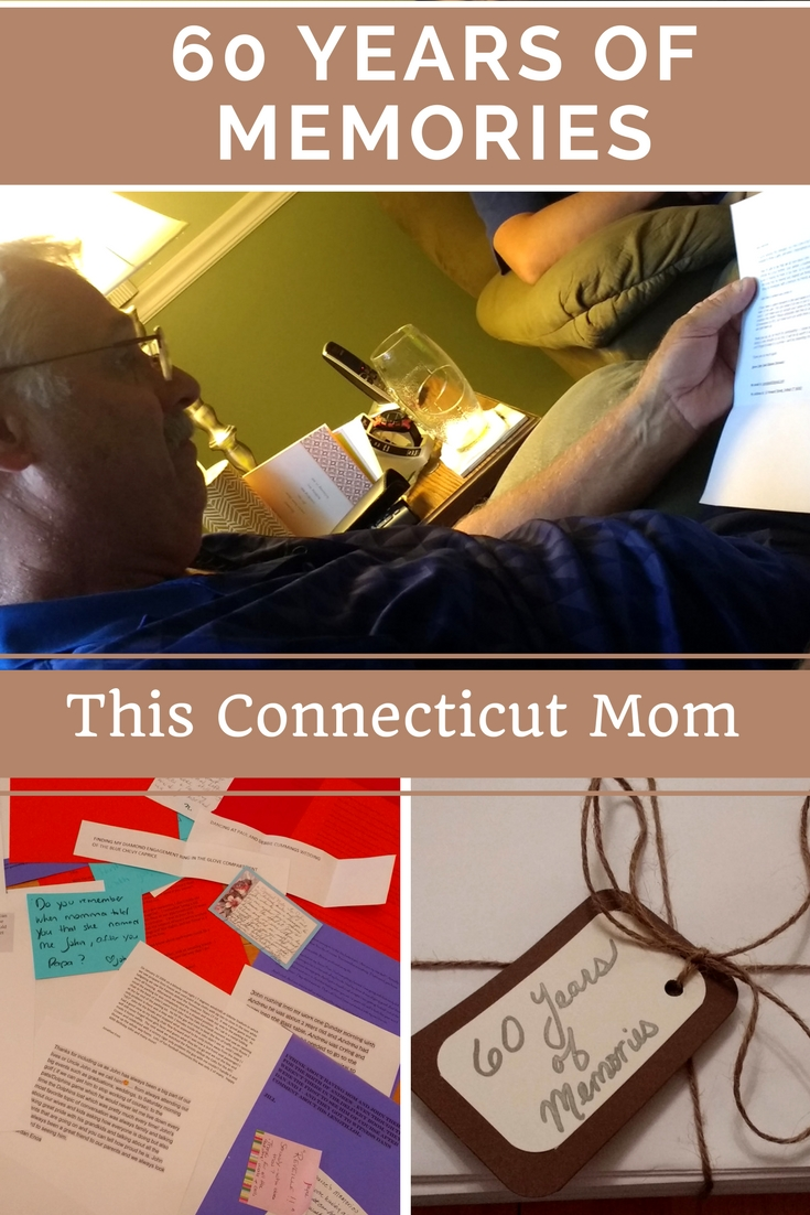 60 Years of Memories- This Connecticut Mom - A Special Tribute to My Father in Celebration of his 60th Birthday