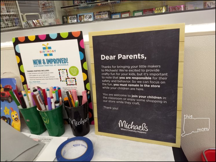 Michaels Kids Club Craft Workshops