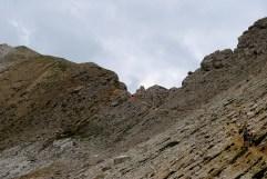 The road to Sas Ciampac