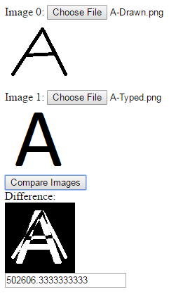 Comparing Images in JavaScript
