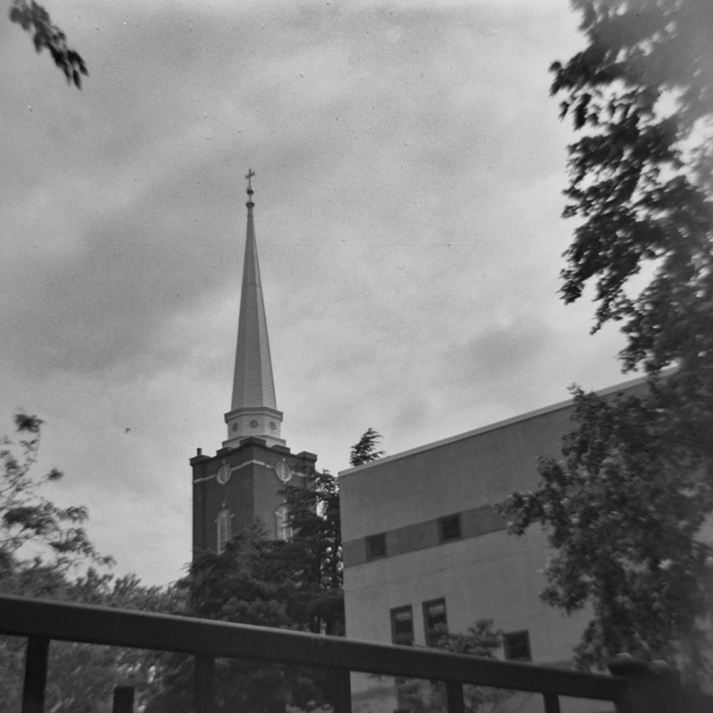 Black and White St. Peter's Church