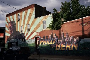 Philly the Bern Mural