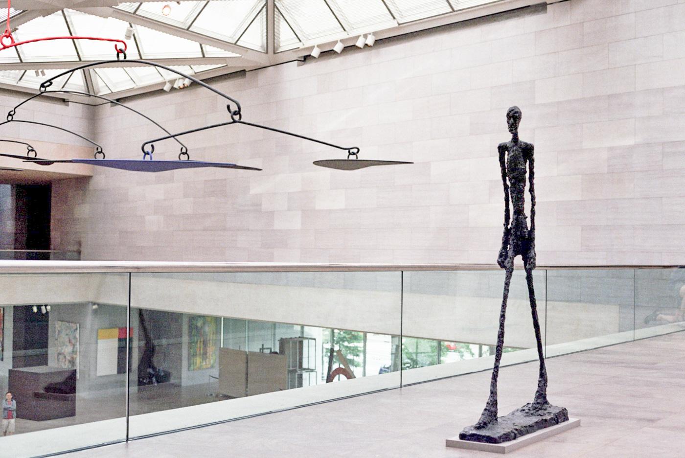 Giacometti and Calder