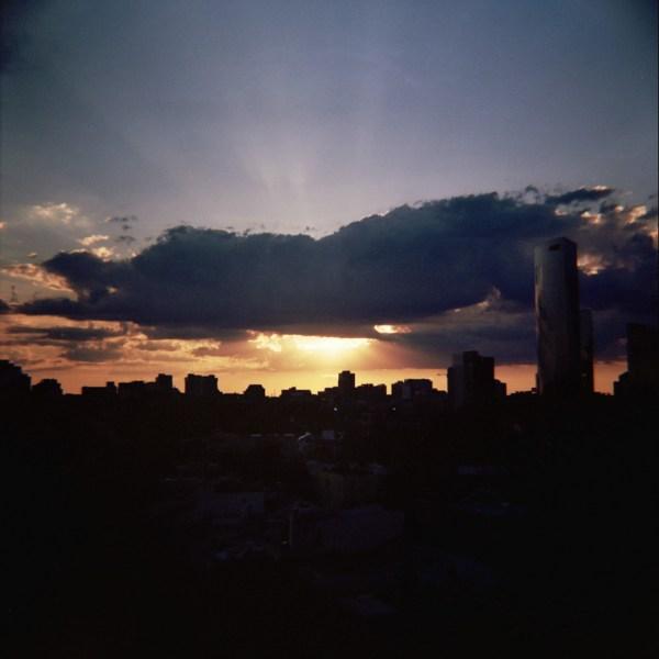 Sunbeams Sunset