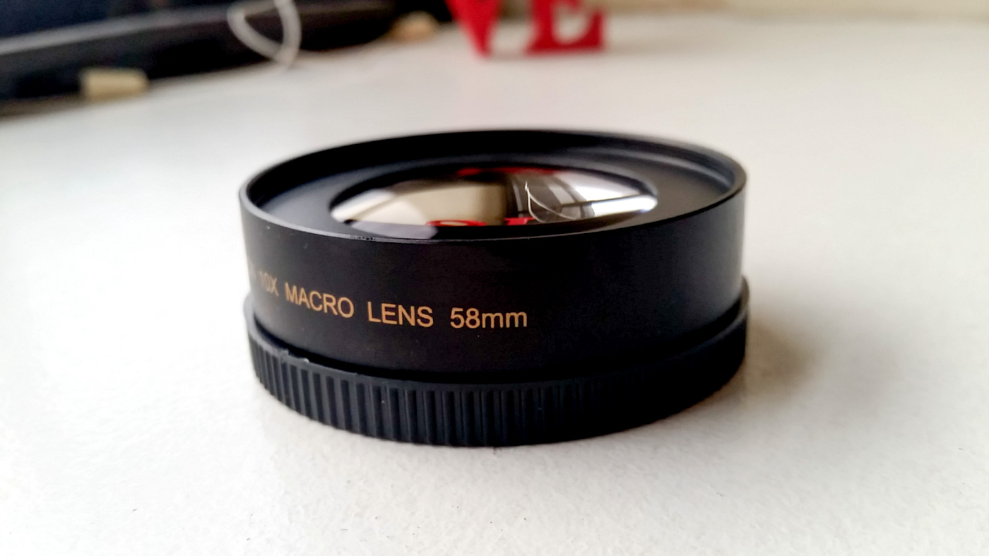 Opteka Achromatic 10x Diopter Close-Up Macro Lens