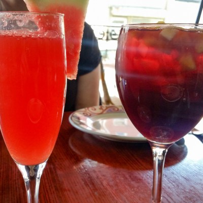 Mimosa Roja and Roja Sangria at Cuba Libre