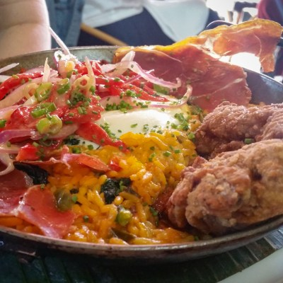 Brunch Paella at Cuba Libre