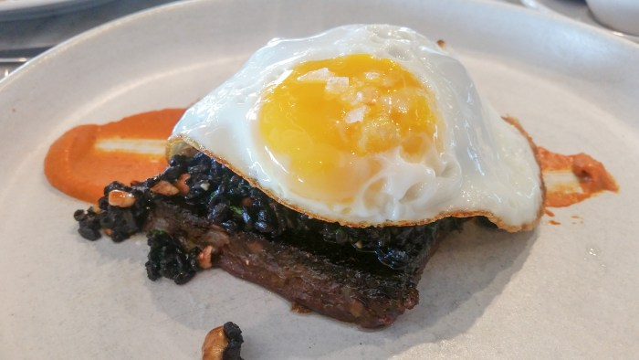 Black Scrapple at Walnut Street Cafe