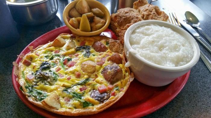 Gardenkeeper Frittata at Sam's Morning Glory Diner