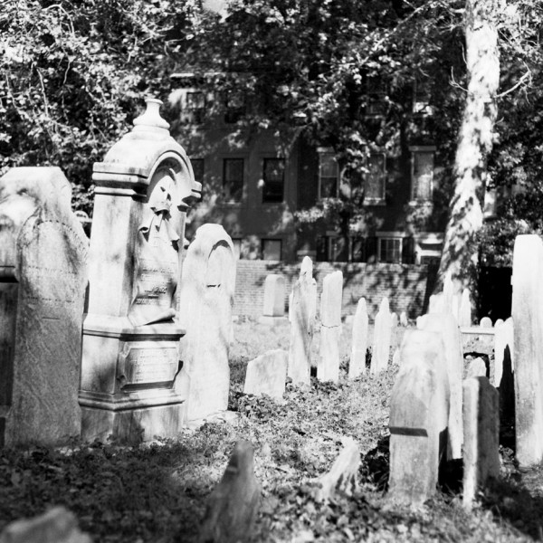 Gravestones at St. Peter's Church