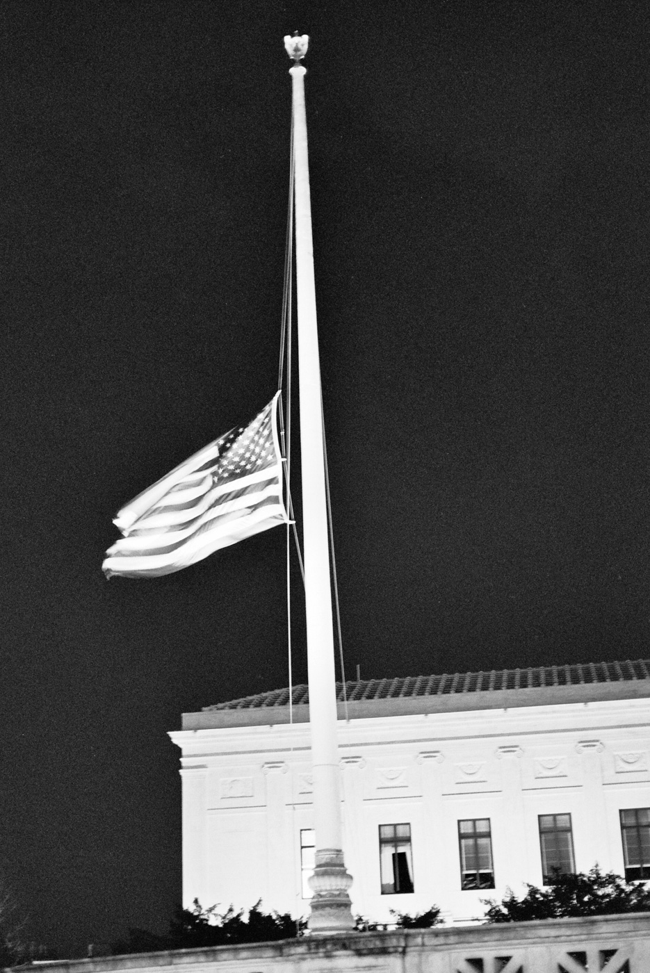 Flag at Half-Mast for the Stoneman Douglas High School Shooting