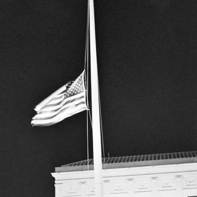 Flag at Half-Mast for the Stoneman Douglas High School Shooting