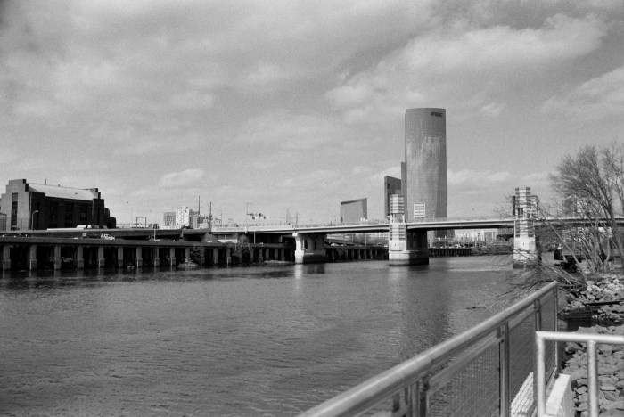 FMC Tower and the South Street Bridge