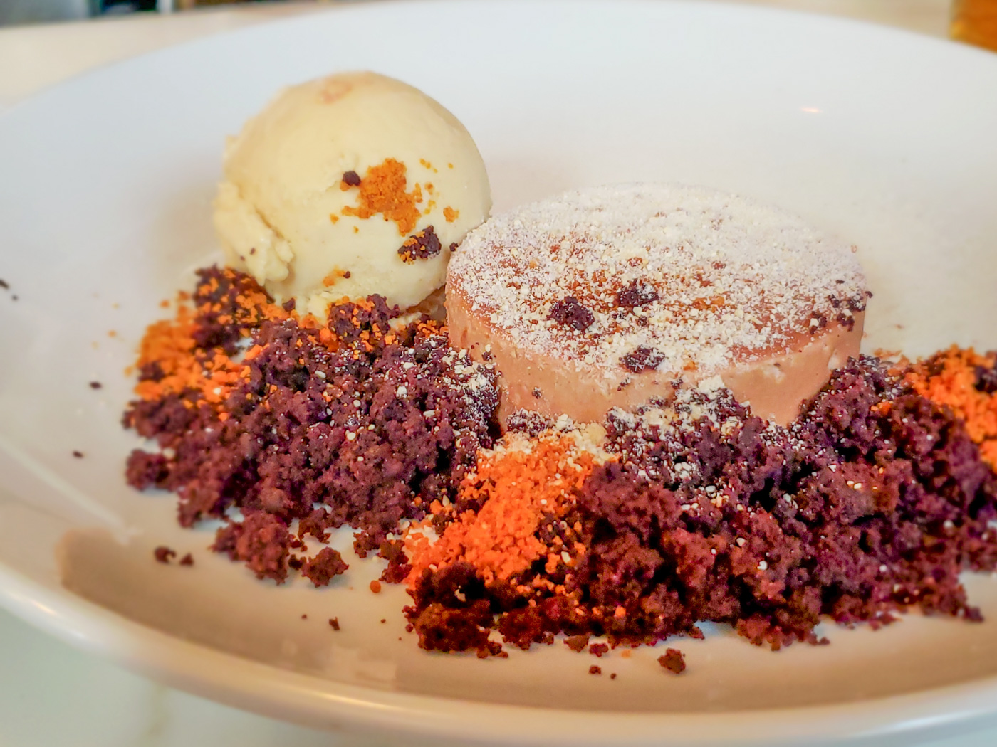 Chocolate Dessert at Rex1516