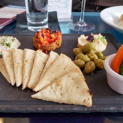 Middle Eastern Platter at Jet Wine Bar