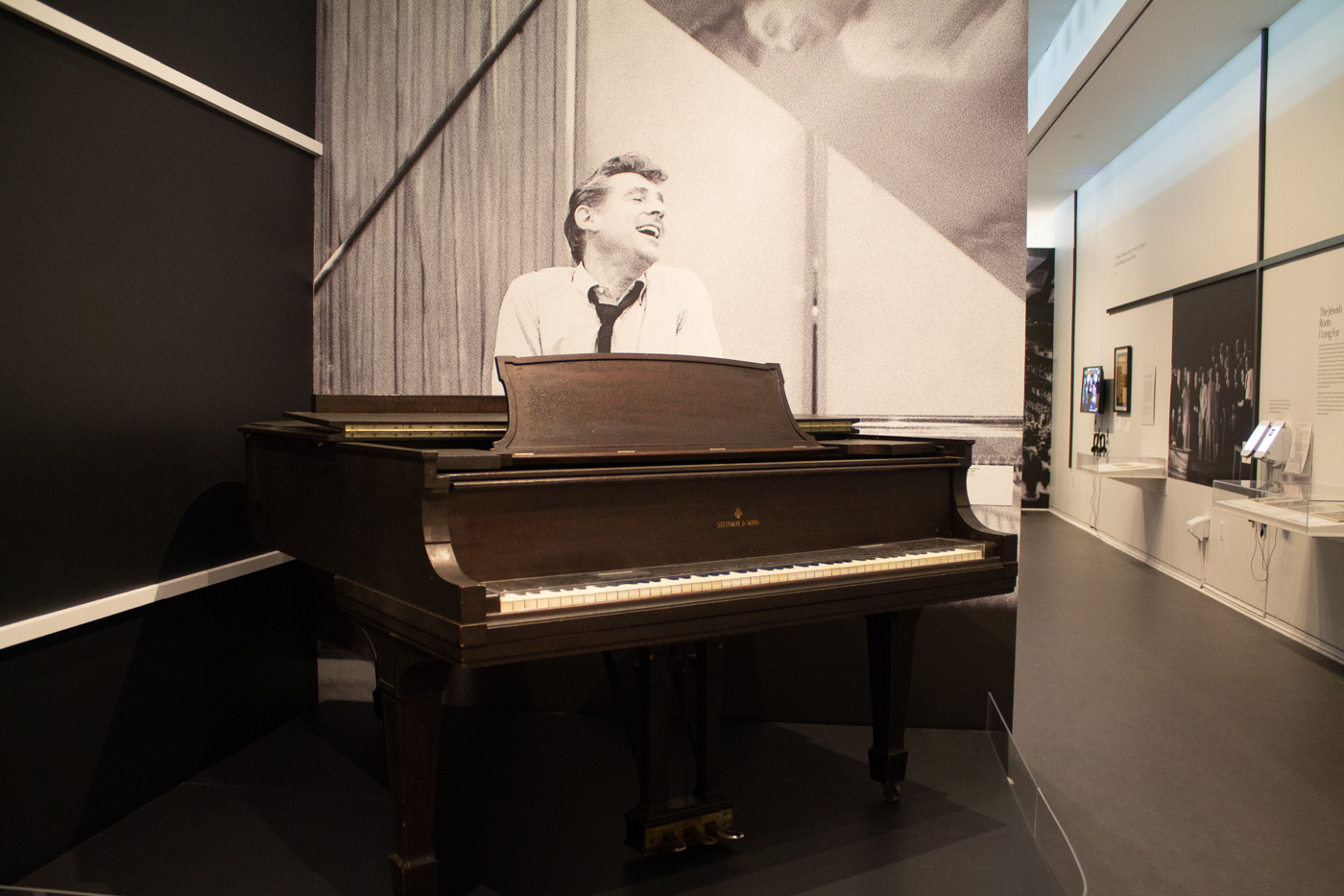 Leonard Bernstein's Piano at the National Museum of American Jew