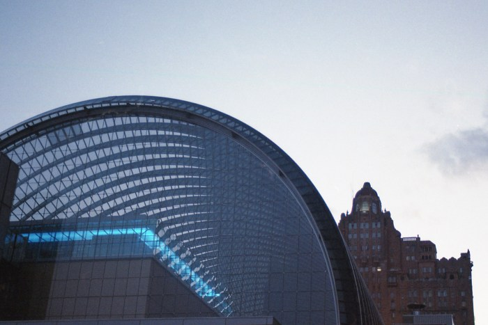 Kimmel Center and The Drake Apartments