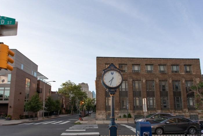 The Pepper Building Clock