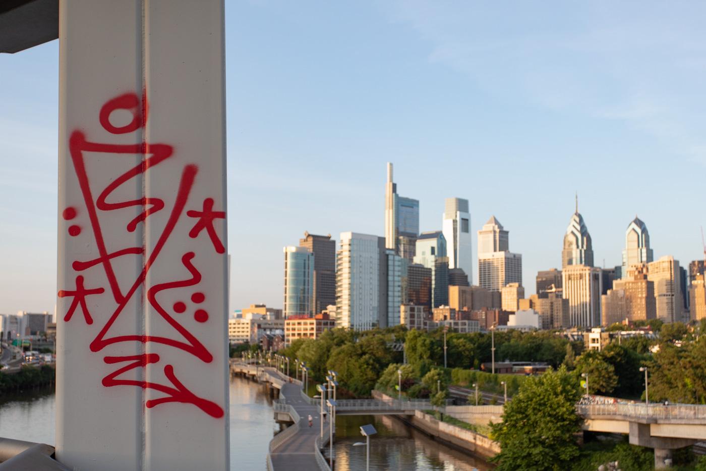 South Street Bridge Graffiti