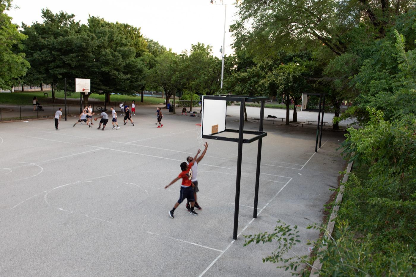 Basketball at Schuylkill River Park