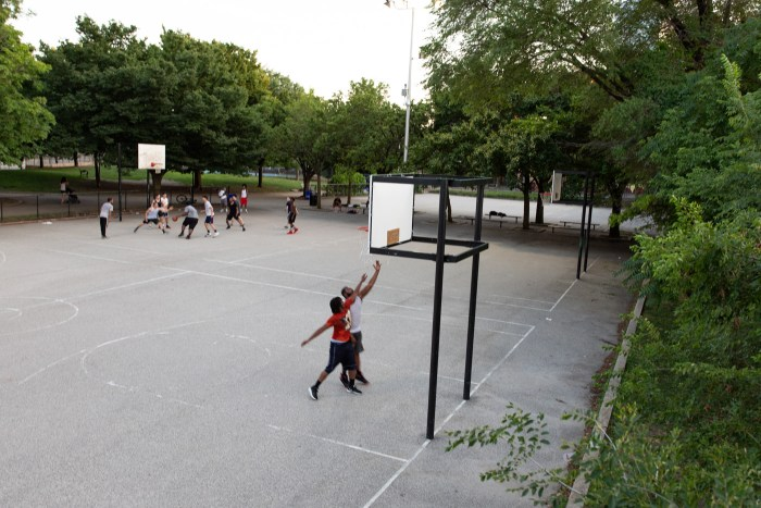 Basketball at Schuylkill River Park