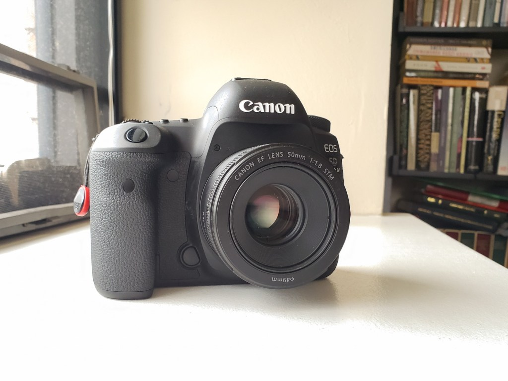 Canon EOS 5D Mark IV with EF 50mm f1.8