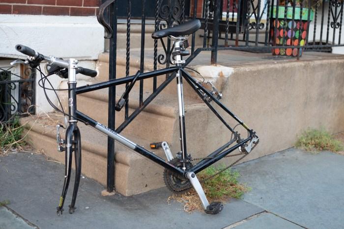Wheel-less Bike