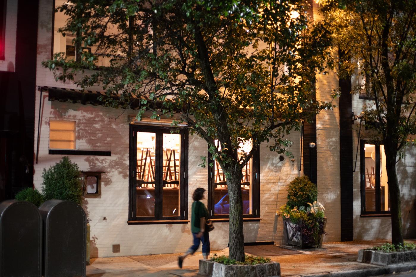 Pub and Kitchen at Night