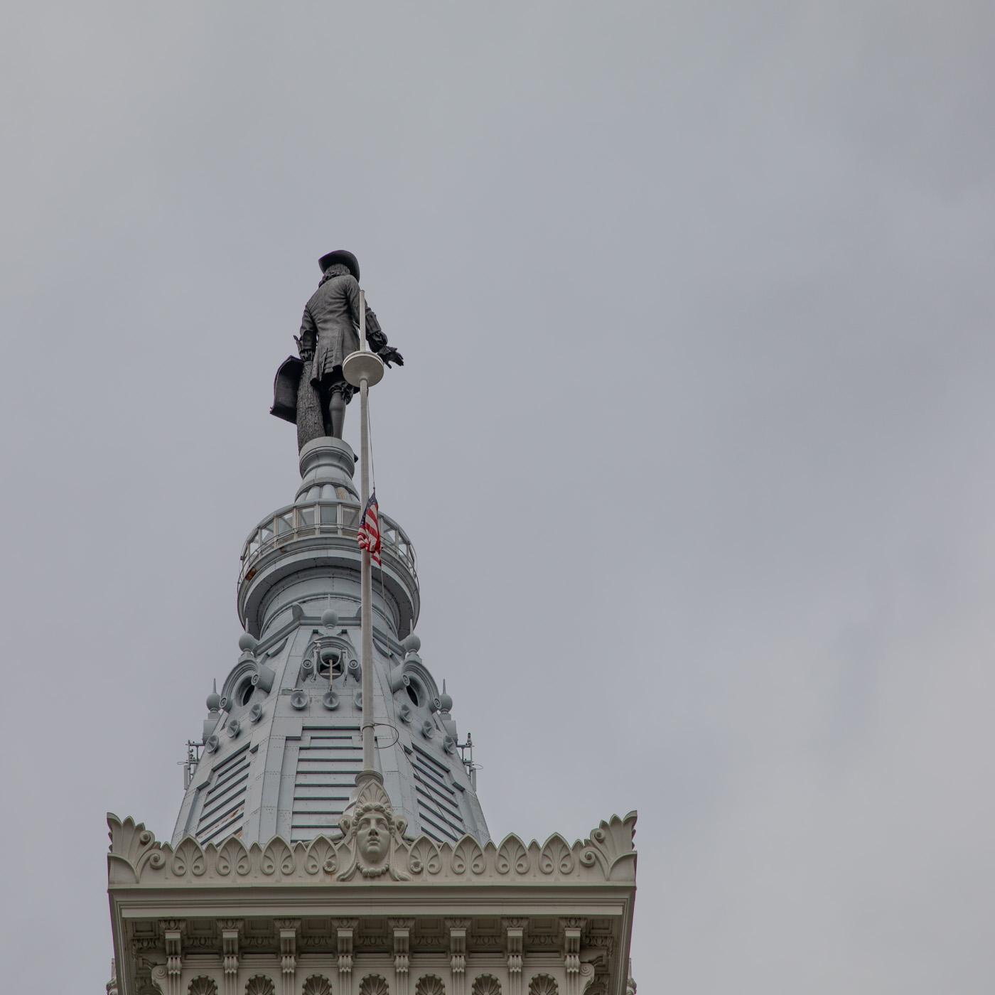 William Penn on Top of City Hall