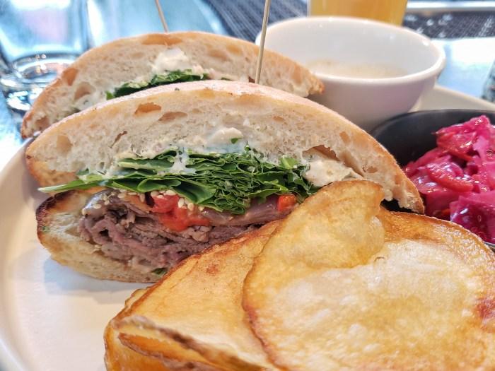 Spiced Lamb Sandwich at Momofuku