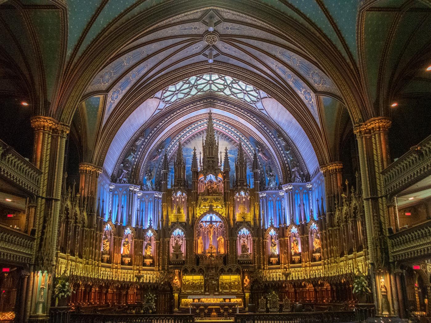 Notre-Dame Basilica - La Basilique Notre-Dame