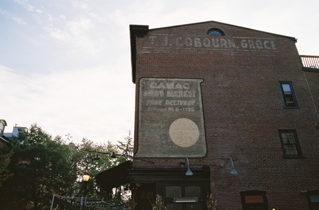 """""""Camac Food Market"""" on the Side of What Is Now Mercato"""
